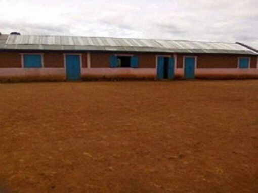 [MADAGASCAR] CONSTRUCTION D'UNE SALLE DE CLASSE A CHAMPFLEURY